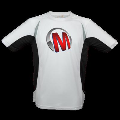 Motiv: Laufshirt Running T - Macho - Logo - Rot