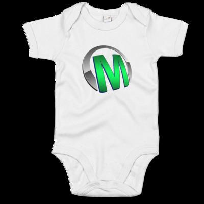 Motiv: Baby Body Organic - Macho - Logo - Grün