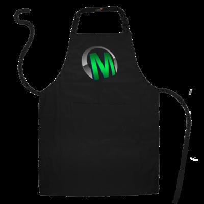 Motiv: Schürze - Macho - Logo - Grün