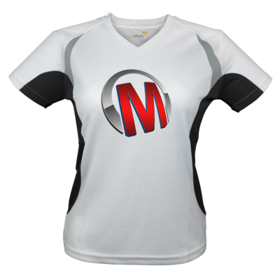 Motiv: Laufshirt Lady Running T - Macho - Logo - Rot