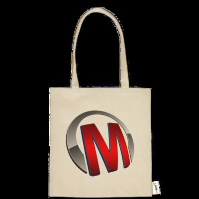 Motiv: Baumwolltasche - Macho - Logo - Rot