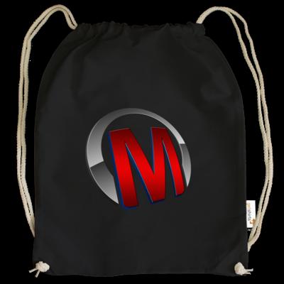 Motiv: Cotton Gymsac - Macho - Logo - Rot