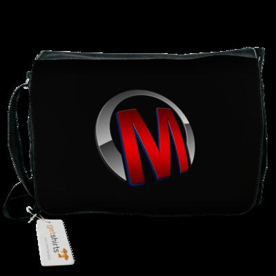 Motiv: Schultertasche - Macho - Logo - Rot