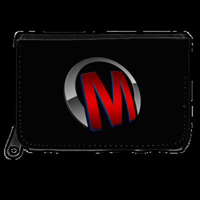 Motiv: Geldboerse - Macho - Logo - Rot