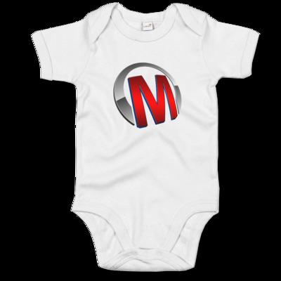 Motiv: Baby Body Organic - Macho - Logo - Rot