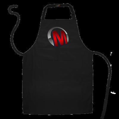 Motiv: Schürze - Macho - Logo - Rot
