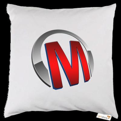 Motiv: Kissen - Macho - Logo - Rot