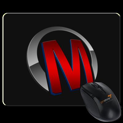 Motiv: Mousepad Textil - Macho - Logo - Rot