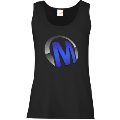 Motiv: Tank Top Damen Classic - Macho - Logo - Blau