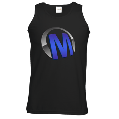 Motiv: Athletic Vest - Macho - Logo - Blau