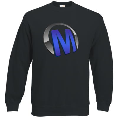 Motiv: Sweatshirt Classic - Macho - Logo - Blau