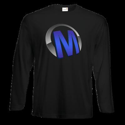 Motiv: Exact 190 Longsleeve FAIR WEAR - Macho - Logo - Blau