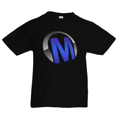 Motiv: Kids T-Shirt Premium FAIR WEAR - Macho - Logo - Blau