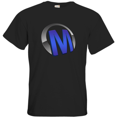 Motiv: T-Shirt Premium FAIR WEAR - Macho - Logo - Blau