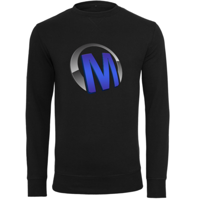 Motiv: Light Crew Sweatshirt - Macho - Logo - Blau