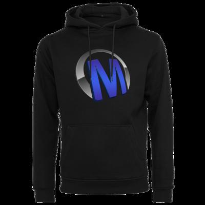 Motiv: Heavy Hoodie - Macho - Logo - Blau