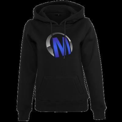 Motiv: Womens Heavy Hoody - Macho - Logo - Blau