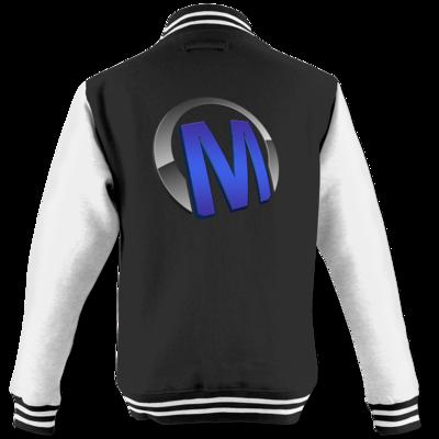 Motiv: College Jacke - Macho - Logo - Blau