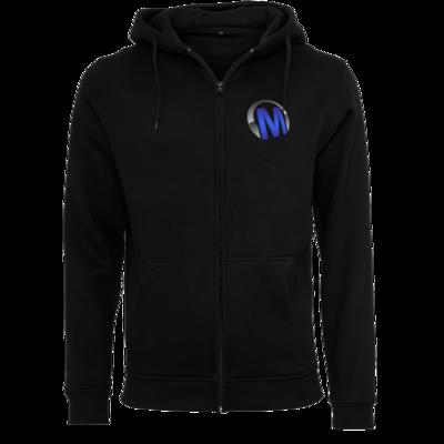 Motiv: Heavy Zip-Hoodie - Macho - Logo - Blau