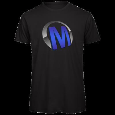 Motiv: Organic T-Shirt - Macho - Logo - Blau