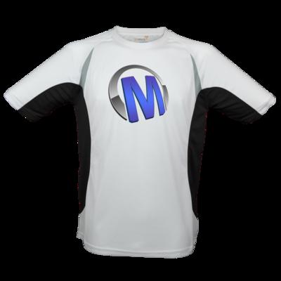 Motiv: Laufshirt Running T - Macho - Logo - Blau