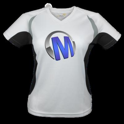 Motiv: Laufshirt Lady Running T - Macho - Logo - Blau