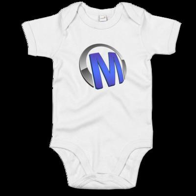Motiv: Baby Body Organic - Macho - Logo - Blau