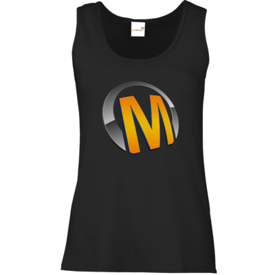 Motiv: Tank Top Damen Classic - Macho - Logo - Orange