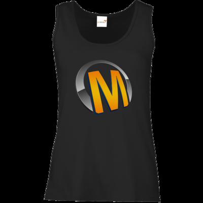 Motiv: Tank Top Damen Classic - Macho - Logo - Orange