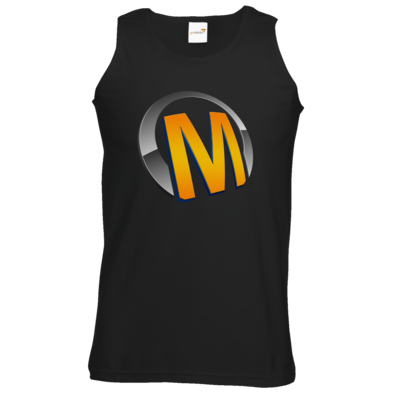 Motiv: Athletic Vest - Macho - Logo - Orange
