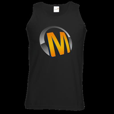Motiv: Athletic Vest - Macho - Logo - Orange