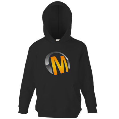 Motiv: Kids Hooded Sweat - Macho - Logo - Orange
