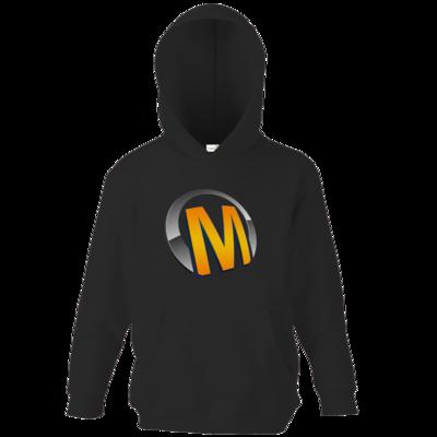 Motiv: Kids Hooded Sweat - Macho - Logo - Orange