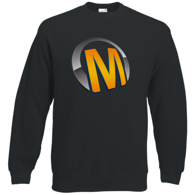 Motiv: Sweatshirt Classic - Macho - Logo - Orange