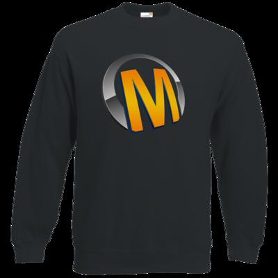 Motiv: Sweatshirt Classic - Macho - Logo - Orange