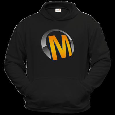 Motiv: Hoodie Classic - Macho - Logo - Orange