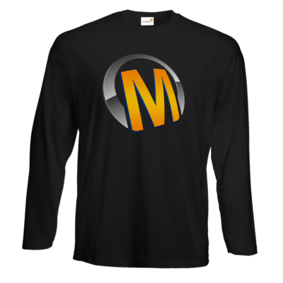 Motiv: Exact 190 Longsleeve FAIR WEAR - Macho - Logo - Orange