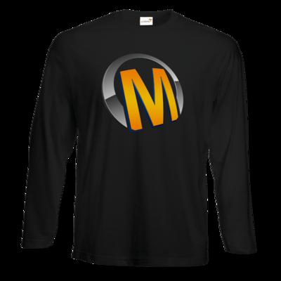 Motiv: Exact 190 Longsleeve FAIR WEAR - Macho - Logo - Orange