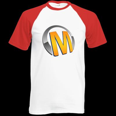 Motiv: Baseball-T FAIR WEAR - Macho - Logo - Orange