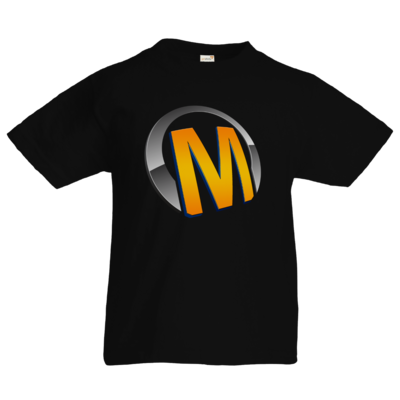 Motiv: Kids T-Shirt Premium FAIR WEAR - Macho - Logo - Orange