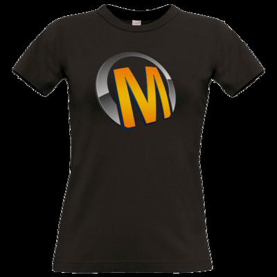 Motiv: T-Shirt Damen Premium FAIR WEAR - Macho - Logo - Orange