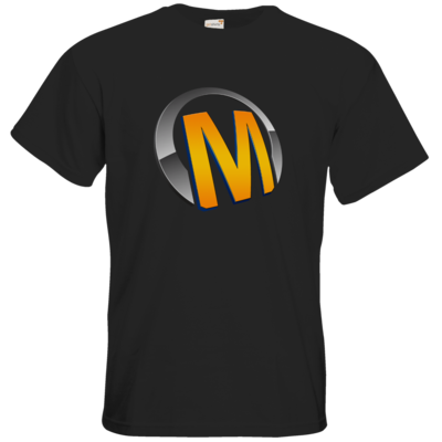 Motiv: T-Shirt Premium FAIR WEAR - Macho - Logo - Orange