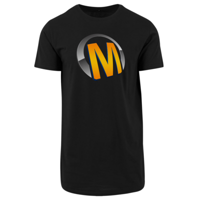 Motiv: Shaped Long Tee - Macho - Logo - Orange