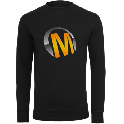 Motiv: Light Crew Sweatshirt - Macho - Logo - Orange