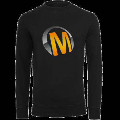 Motiv: Light Crew Sweatshirt - Macho - Logo - Orange