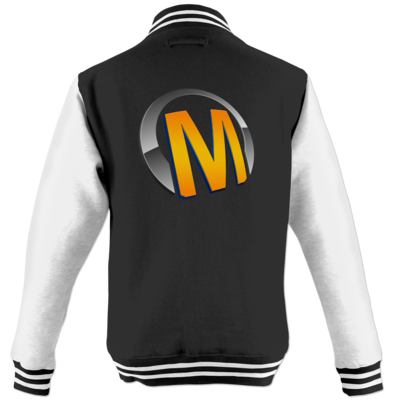 Motiv: College Jacke - Macho - Logo - Orange