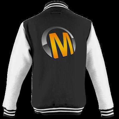 Motiv: College Jacke - Macho - Logo - Orange