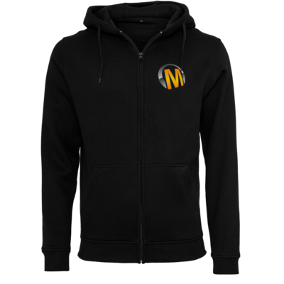 Motiv: Heavy Zip-Hoodie - Macho - Logo - Orange