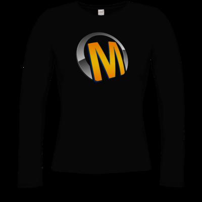 Motiv: Longsleeve Damen Organic - Macho - Logo - Orange