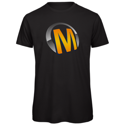 Motiv: Organic T-Shirt - Macho - Logo - Orange